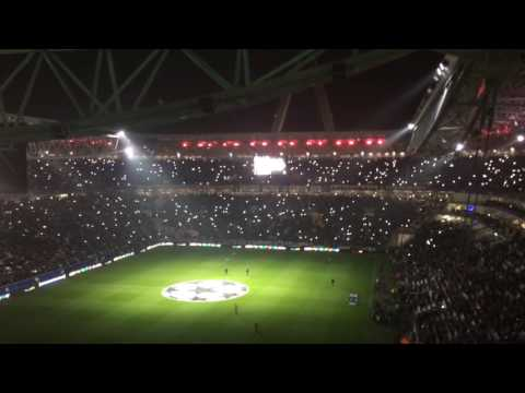 Juventus vs Olympique Lyonnais - Team & Anthem Juventus