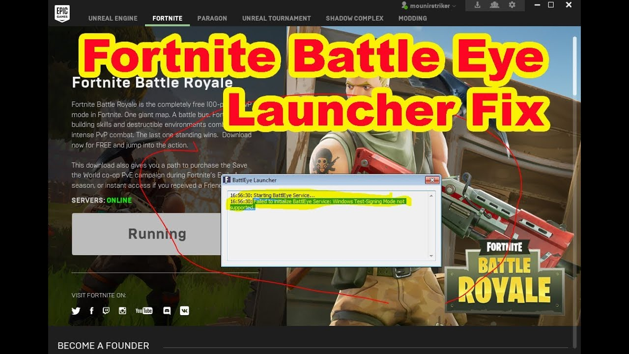Fix the Failed to initialize Battleye error in all games 87