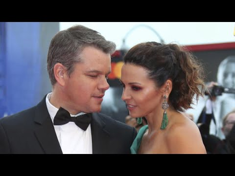 Matt Damon Gets Adorably Tongue-Tied Gushing About His Wife Luciana