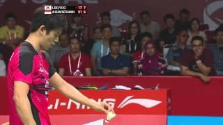 2015 bwf world championships sf mohammad ahsan hendra setiawan vs lee yong dae yoo yeon seong