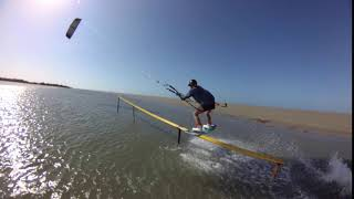 Smooth lines | kiteboarding with Feiyu Tech waterproof gimbal