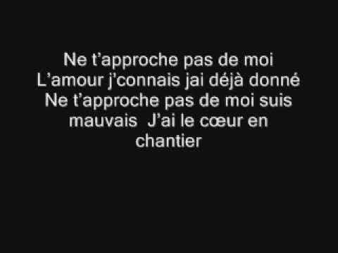 Singuila - Faut pas me toucher lyrics