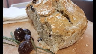 Domaći hleb bez mešenja Hilandarski homemade bread