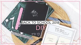 BACK TO SCHOOL 2018:  DIY