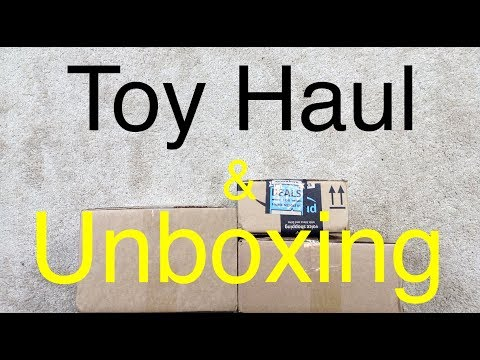 Action Figure Haul & Unboxing #111 Toy Haul & Toy Review Preview + Blu Ray Haul