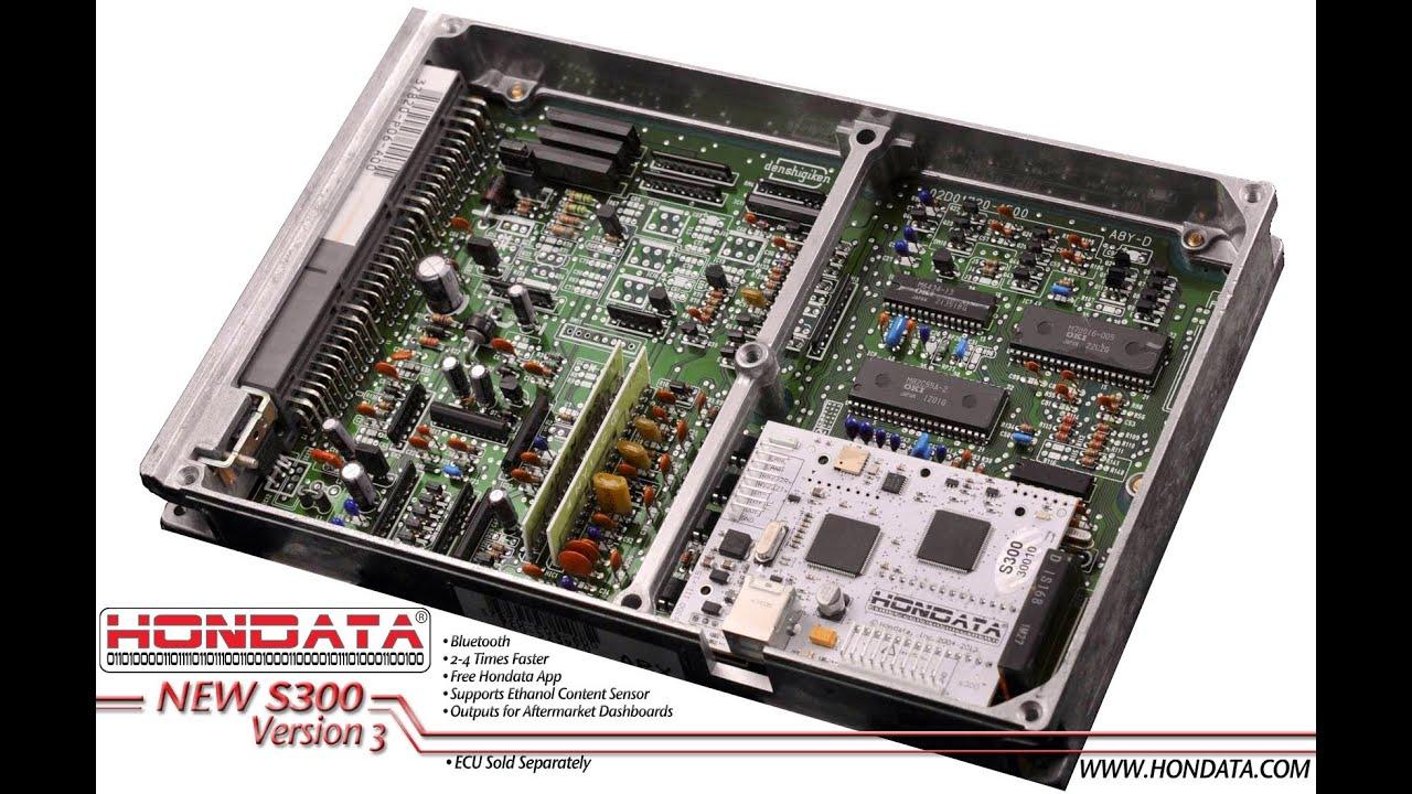 Hondata S300 V3 Package w p28 ECU