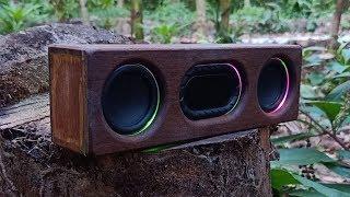 DIY 20W Bluetooth speaker . LED is blinking