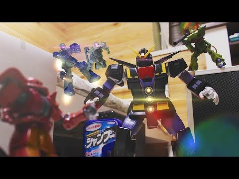 『団結!ザク小隊!』ガンプラコマ撮り | Gundam