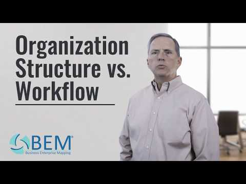 Orgranization Structure vs Workflow