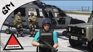 GTA 5 - LSPDFR - PLAN VIGIPIRATE - Armée/Gendarmerie - Patrouille 27