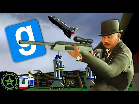 Trouble in Legoland - GMOD: TTT | Let's Play