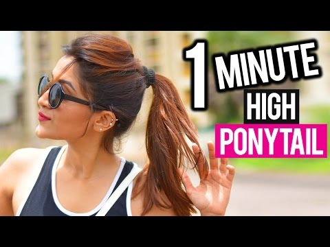 How to do a poofy ponytail without teasing