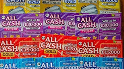 4 tips of All Cash lotto cards . ireland Scratch cards . Win??