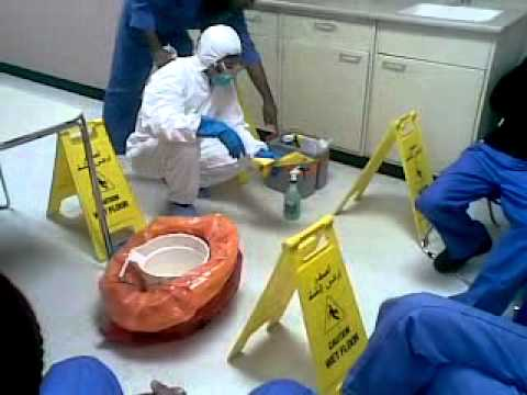 Cytotoxic Spills Cleaning Youtube