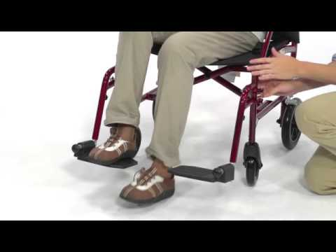 Drive Medical - Fly Lite Ultra Lightweight Transport Wheelchair
