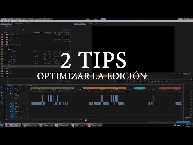 2 Trucos para editar mas rápido en Premiere