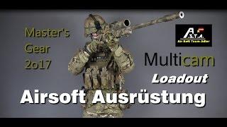 Airsoft Loadout 2k17 Multicam Master A.S.T.A.
