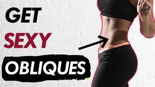 Ripped Obliques: 10 Minute Lower Abs & Love Handle Workout! (Tighten Waist)