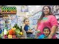 GOO GOO GAGA HELP MOMMY COOK BREAKFAST! Learn to Grocery Shop for Healthy Foods
