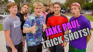 JAKE PAUL TRICK SHOTS!