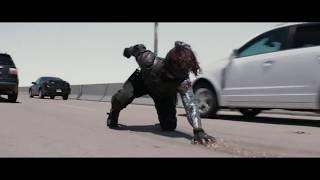 Первый мститель. Зимний солдат нападает на Стива, Сокола и Наташу
