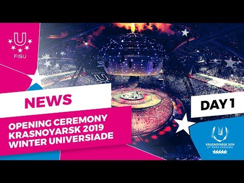 Krasnoyarsk 2019 Winter Universiade declared open by Russian