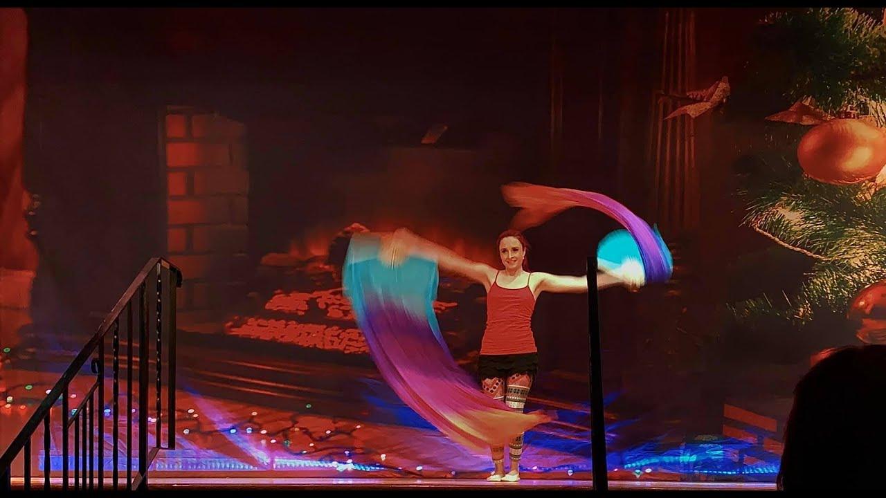Silk Fans Performance at EPAC Christmas Recital