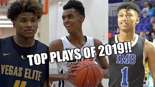 TOP 20 PLAYS OF 2019!! Feat. MIKEY WILLIAMS, EMONI BATES, JALEN GREEN & More!!