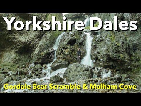 Yorkshire Dales - Gordale Scar Scramble & Malham Cove