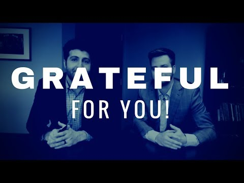 we'r grateful for you!