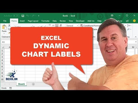 """Learn Excel 2010 -""""Dynamic Chart Labels"""":  #1426"""