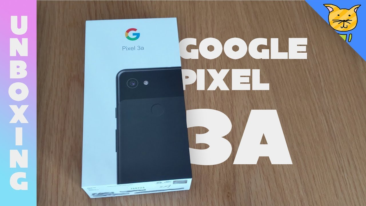 Google Pixel 3a Unboxing + Case/Screen Protector Nonsense