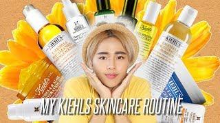 Kiehl's Skincare Routine for Oily Acne Skin   FISHMEATDIE