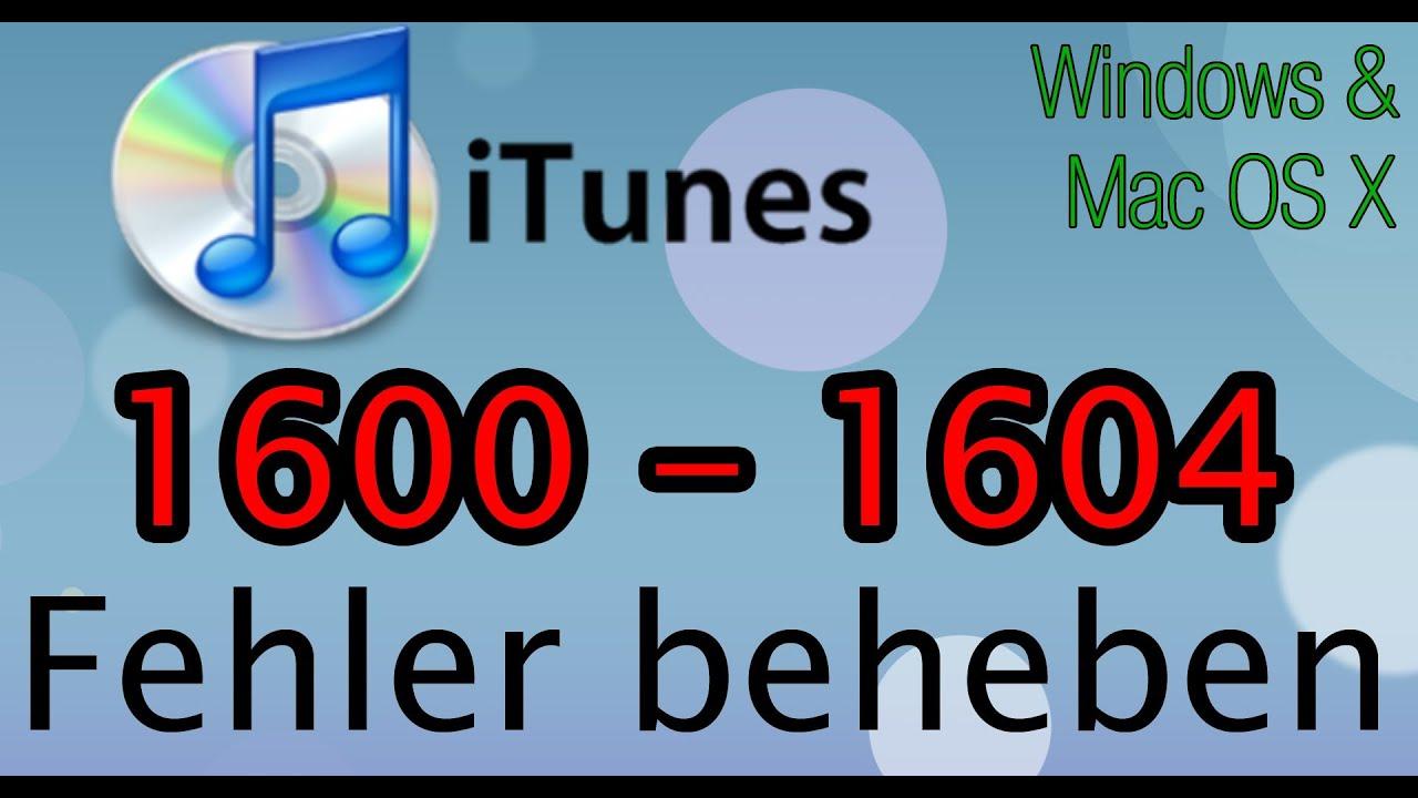 iTunes Fehler beheben: 1604/1603/1602/1601/1600 [Windows/Mac] CFW/PWNED-DFU