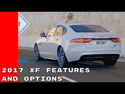 2017 Jaguar XF Features and Options