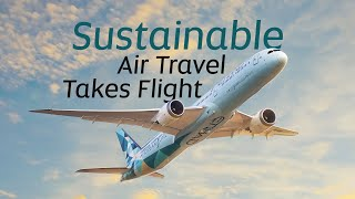 Sustainability Takes Flight with the Etihad Greenliner | Etihad Airways