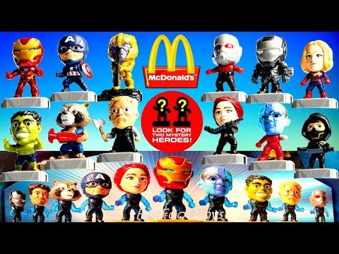 2019 Mcdonald S Avengers Endgame Happy Meal Toys Full Set