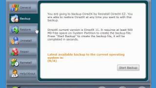 A quick look at Reinstall DirectX EZ