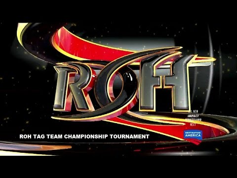 WWE 2K16 Universe - ROH Episode 3 - ROH Tag Team Championship Tournament