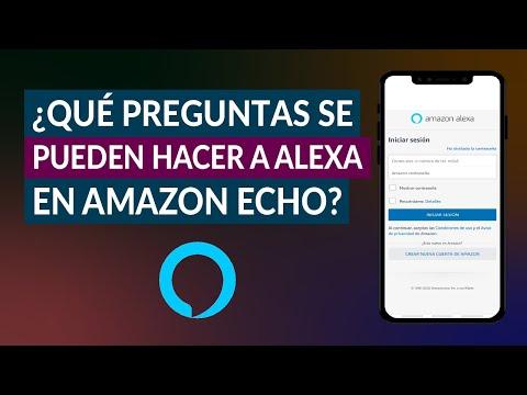 ¿Qué Consultas o Preguntas se Pueden Hacer a Alexa en Amazon Echo?
