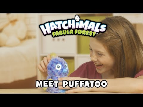 Hatchimals Fabula Forest Puffatoo tojásban