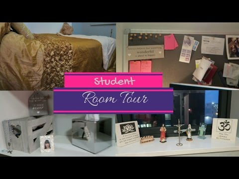 Crown Place Halls | STUDENT ROOM TOUR | University of Liverpool