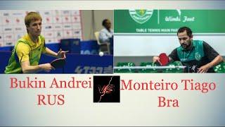 Андрей Букин vs Monteiro Tiago | Portugal Leauge
