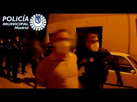 Fiestas ilegales y armas: terrorismo callejero de los cachorros de Vox de Bastión Frontal