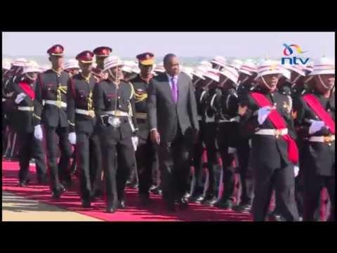 President Kenyatta visits Gaborone in bid to improve bilateral ties