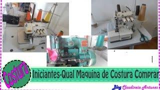 #1 Corte e Costura para Iniciantes - Qual Maquina de Costura Comprar