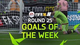 FIFA 16 - Best Goals of the Week - Round 25