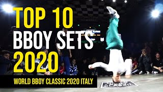 TOP 10 Best Bboy Sets of World Bboy Classic 2020 Italy
