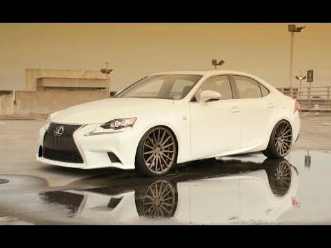 2014 Lexus Is250 F Sport Vossen 20 Vfs2 Concave Wheels Rims
