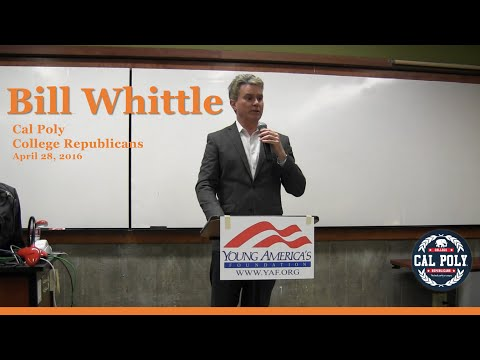 Bill Whittle @ Cal Poly - April 28, 2016